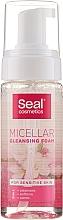 Voňavky, Parfémy, kozmetika Micelárna pena pre citlivú pleť - Seal Cosmetics Micellar Cleansing Foam