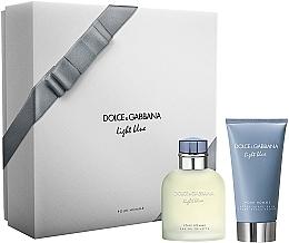 Voňavky, Parfémy, kozmetika Dolce & Gabbana Light Blue Pour Homme - Súprava (edt/75ml + ash/balm/75ml)