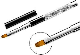 Voňavky, Parfémy, kozmetika Štetec na manikúru 11, oválny - Elisium