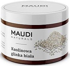 Voňavky, Parfémy, kozmetika Kaolínová biela íl na tvár - Maudi