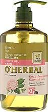 Voňavky, Parfémy, kozmetika Tonizujúci sprchový gél s extraktom z damaškovej ruže - O'Herbal Toning Shower Gel