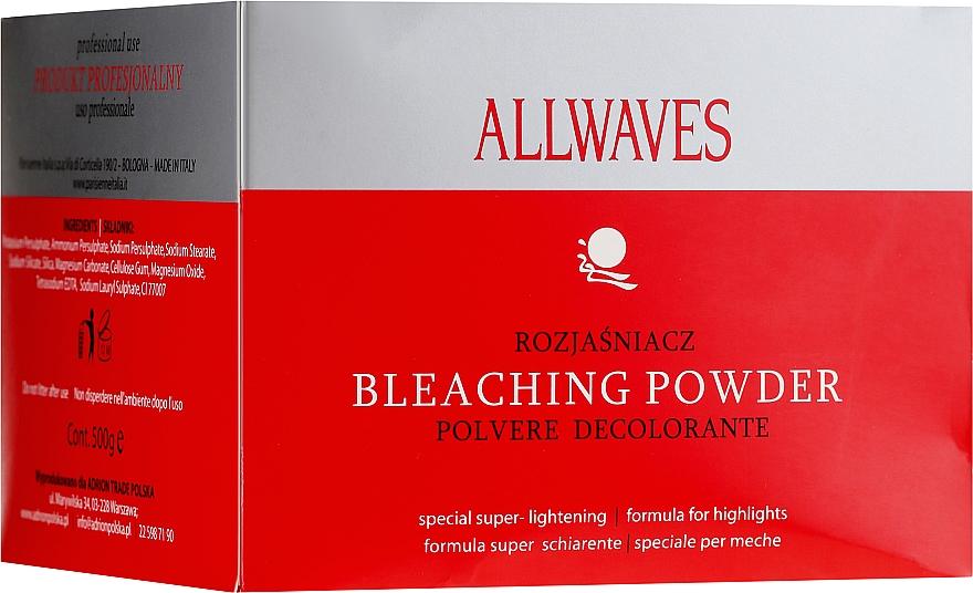 Prašok na zosvetlenie vlasov - Allwaves Bleaching Powder