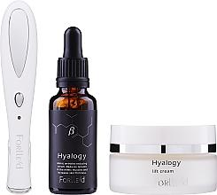 Voňavky, Parfémy, kozmetika Zestaw - Forlle'd Smart Face Care (f/cr/50g + f/ser/30ml + beauty device/1pc)