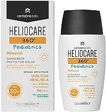 Voňavky, Parfémy, kozmetika Detský opaľovací minerálny gélový krém SPF 50+ - Cantabria Labs Heliocare 360? Pediatrics Mineral SPF 50+