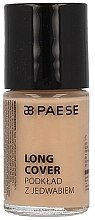 Voňavky, Parfémy, kozmetika Ľahký tónovací krem s hodvábom pre suchú pokožku - Paese Long Cover