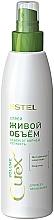 """Voňavky, Parfémy, kozmetika Sprej na všetky typy vlasov """"Živý objem"""" - Estel Professional Curex Volume Spray"""