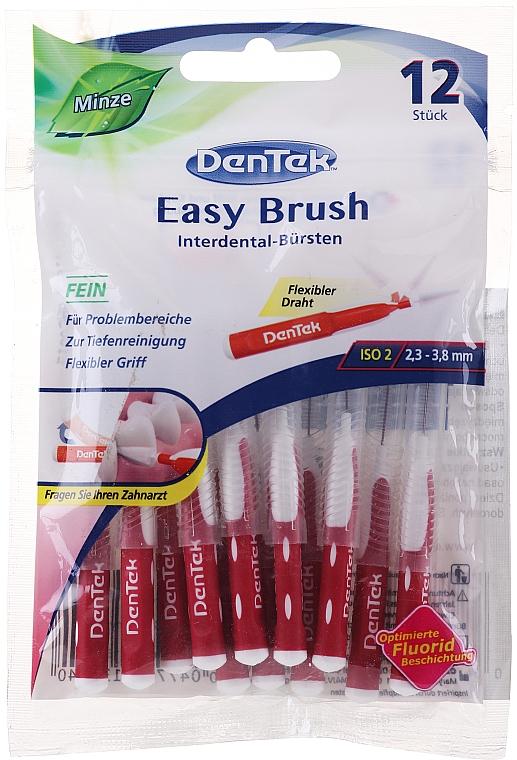 Medzizubné kefky, veľkosť 2 - DenTek Easy Brush