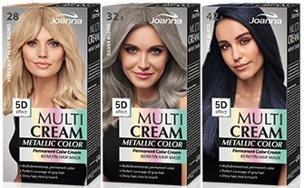 Farba na vlasy - Joanna Multi Cream Color Metallic