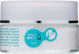 Voňavky, Parfémy, kozmetika Akrylový prášok na nechty, 72 g - Silcare Sequent Acryl Pro