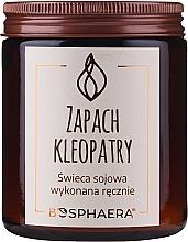 "Voňavky, Parfémy, kozmetika Vonná sójová sviečka ""Vôňa Kleopatry"" - Bosphaera The Scent of Cleopatra Candle"