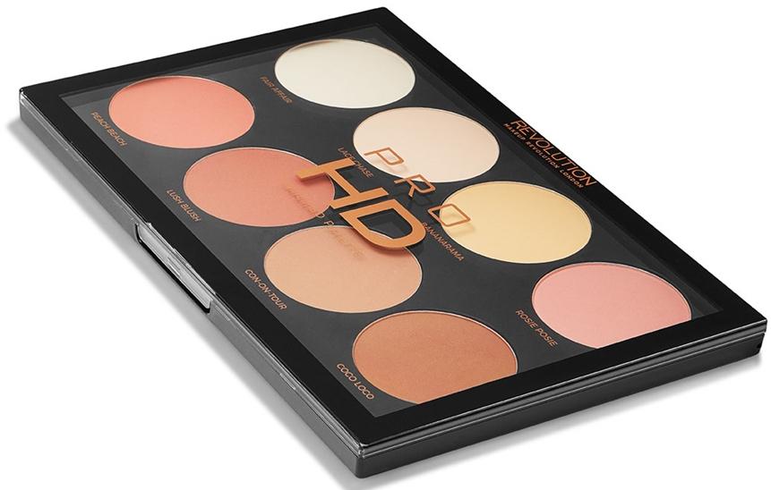 Paleta na líčenie - Makeup Revolution Pro HD Mega Matte Palette — Obrázky N1