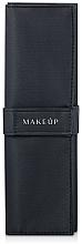 """Voňavky, Parfémy, kozmetika Puzdro na 5 štetcov, čierne """"Basic"""" - Makeup"""