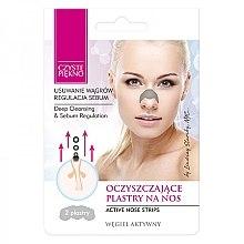 Voňavky, Parfémy, kozmetika Náplasť na nos proti čierne bodky - Czyste Piekno Nose Pack
