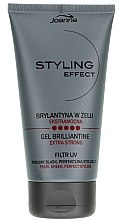 Voňavky, Parfémy, kozmetika Brilliantine v géli na vlasy - Joanna Styling Effect Gel Brilliantine