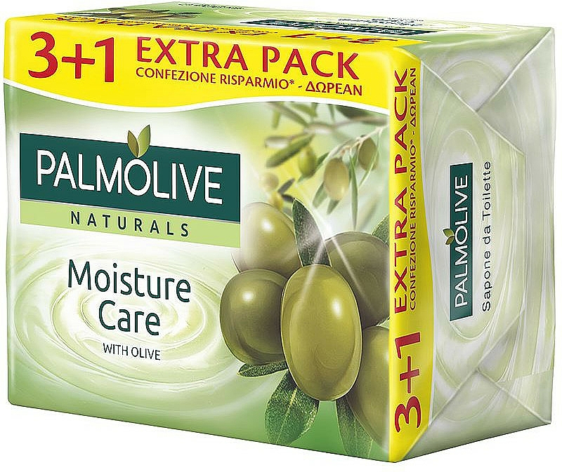 """Mydlo """"Oliva a mlieko"""" - Palmolive Naturals Moisture Care With Olive Soap"""