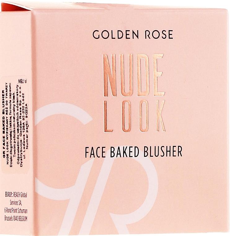 Lícenka na tvár - Golden Rose Nude Look Face Baked Blusher