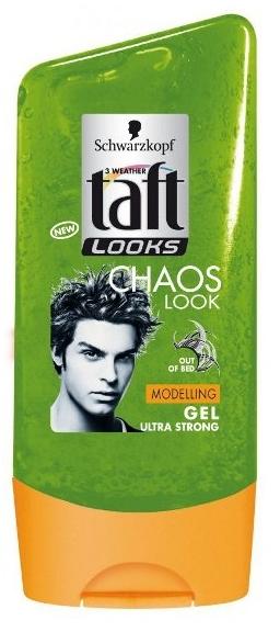 Fixačný gél na vlasy - Schwarzkopf Taft Looks Chaos Look Modelling Gel — Obrázky N1