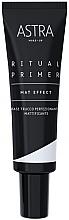 Voňavky, Parfémy, kozmetika Zmatňujúca báza pod make-up - Astra Make-Up Ritual Primer Mat Effect