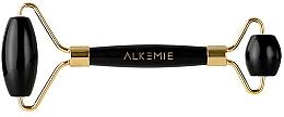 Voňavky, Parfémy, kozmetika Masážny valček na tvár - Alkemie Face Roller Jet Black