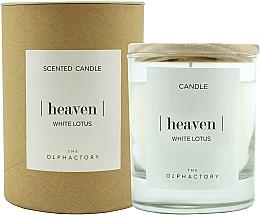 """Voňavky, Parfémy, kozmetika Vonná sviečka """"Biely lotos"""" - Ambientair The Olphactory Heaven White Lotus"""