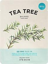 Voňavky, Parfémy, kozmetika Látková maska na tvár s čajovníkom - It's Skin The Fresh Mask Sheet Tea Tree