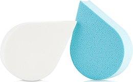 Voňavky, Parfémy, kozmetika Špongie na líčenie, 35814, biela + modrá - Top Choice