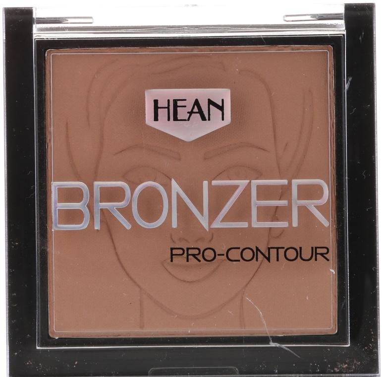Bronzer na tvár - Hean Pro-contour Bronzer