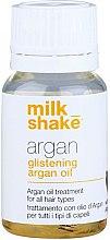 Voňavky, Parfémy, kozmetika Arganový olej na hĺbkovú regeneráciu a lesk vlasov - Milk_Shake Argan Glistening Argan Oil