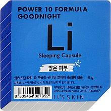 Voňavky, Parfémy, kozmetika Nočná maska-kapsula - It's Skin Power 10 Formula Goodnight Li Sleeping Capsule
