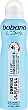 Voňavky, Parfémy, kozmetika Dezodorant - Babaria Aloe Vera Dermo Sensible Deo Spray