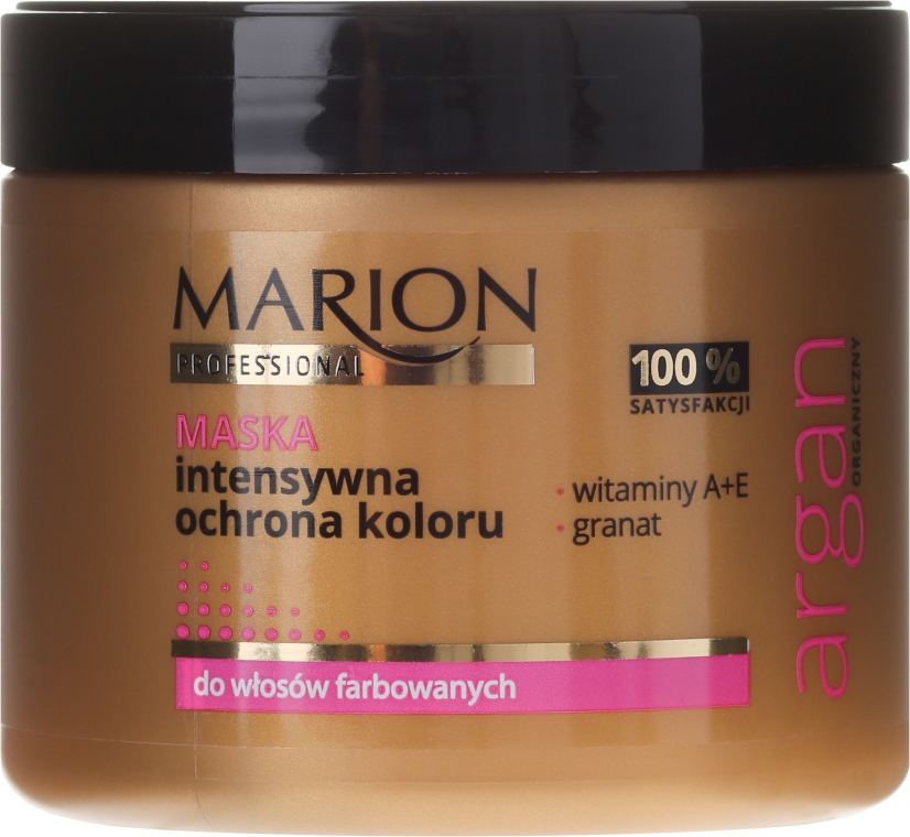 Maska na vlasy - Marion Professional Argan Intensive Colour Protection Hair Mask