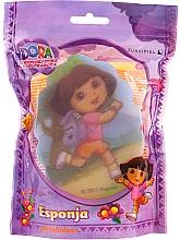 """Voňavky, Parfémy, kozmetika Detská hubka """"Dora"""", 169-13, ružová - Suavipiel Dora Bath Sponge"""
