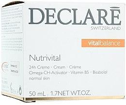 Voňavky, Parfémy, kozmetika Výživný krém 24-hodinový - Declare Nutrivital 24 h Cream