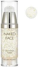 Voňavky, Parfémy, kozmetika Primer-sérum pre žiarivosť - Holika Holika Naked Face Gold Serum Primer