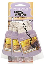 "Voňavky, Parfémy, kozmetika Arómatizator ""Citrón s levanduľou"" - Yankee Candle Fluffy Lemon Lavender Jar Ultimate"