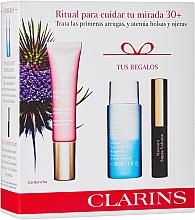 Voňavky, Parfémy, kozmetika Sada - Clarins Multi Active Yeux Set (eye/cr/15ml + makeup/remover/30ml + mascara/3.5ml)