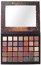 Voňavky, Parfémy, kozmetika Paleta očných tieňov - Bellapierre Ultimate Nude Eyeshadow Palette