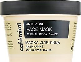 """Voňavky, Parfémy, kozmetika Maska na tvár """"Proti akné"""" - Cafe Mimi Face Mask"""