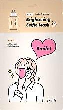 Voňavky, Parfémy, kozmetika Dvojfázová rozjasňujúca maska na tvár - Skin79 Brightening Selfie Mask