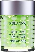 Voňavky, Parfémy, kozmetika Hydratačný ochranný denný krém na tvár - Pulanna Green Tea Moisturizing Day Cream
