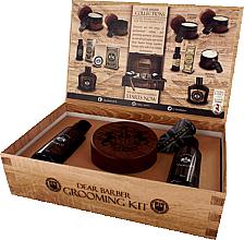Voňavky, Parfémy, kozmetika Dear Barber IV Shave Care Collection - Sada (shave/cr/100ml + shave/oil/30ml + edt/30ml)