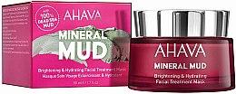 Voňavky, Parfémy, kozmetika Hydratačná maska na tvár - Ahava Mineral Mud Brightening & Hydrating Facial Treatment Mask