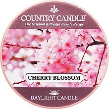 Voňavky, Parfémy, kozmetika Čajová sviečka - Country Candle Cherry Blossom