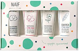Voňavky, Parfémy, kozmetika Sada - Naif Baby Kit (sh/15ml + cr/15ml + cr/15ml + sh/gel/15ml)