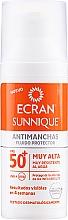 Voňavky, Parfémy, kozmetika Starostlivosť o tvár s SPF ochranou - Ecran Sunnique Antimanchas Facial Spf50+