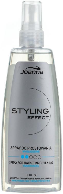 Sprej pre vyrovnávanie vlasov - Joanna Styling Effect Spray For Hair Straightening Smoothing