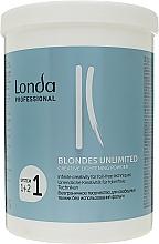 """Voňavky, Parfémy, kozmetika Zosvetľujúci púder """"Kreatívny"""" - Londa Professional Blondes Unlimited Creative Lightening Powder"""