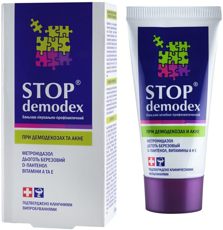 Liečivý a preventívny balzam - FitoBioTechnológie Stop Demodex