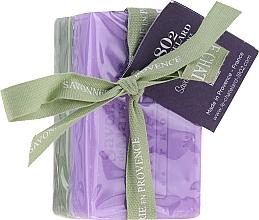 "Voňavky, Parfémy, kozmetika Sada ""Oliva a jazmín"" - Le Chatelard 1802 Olive & Jasmin (soap/100g + soap/100g)"