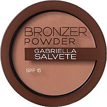 Voňavky, Parfémy, kozmetika Bronzer-prášok - Gabriella Salvete Bronzer Powder SPF15